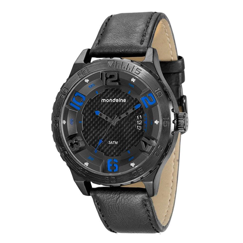 2182e96de54 Relógio Index 3D Preto. 76634GPMVSH1. 76634GPMVSH1