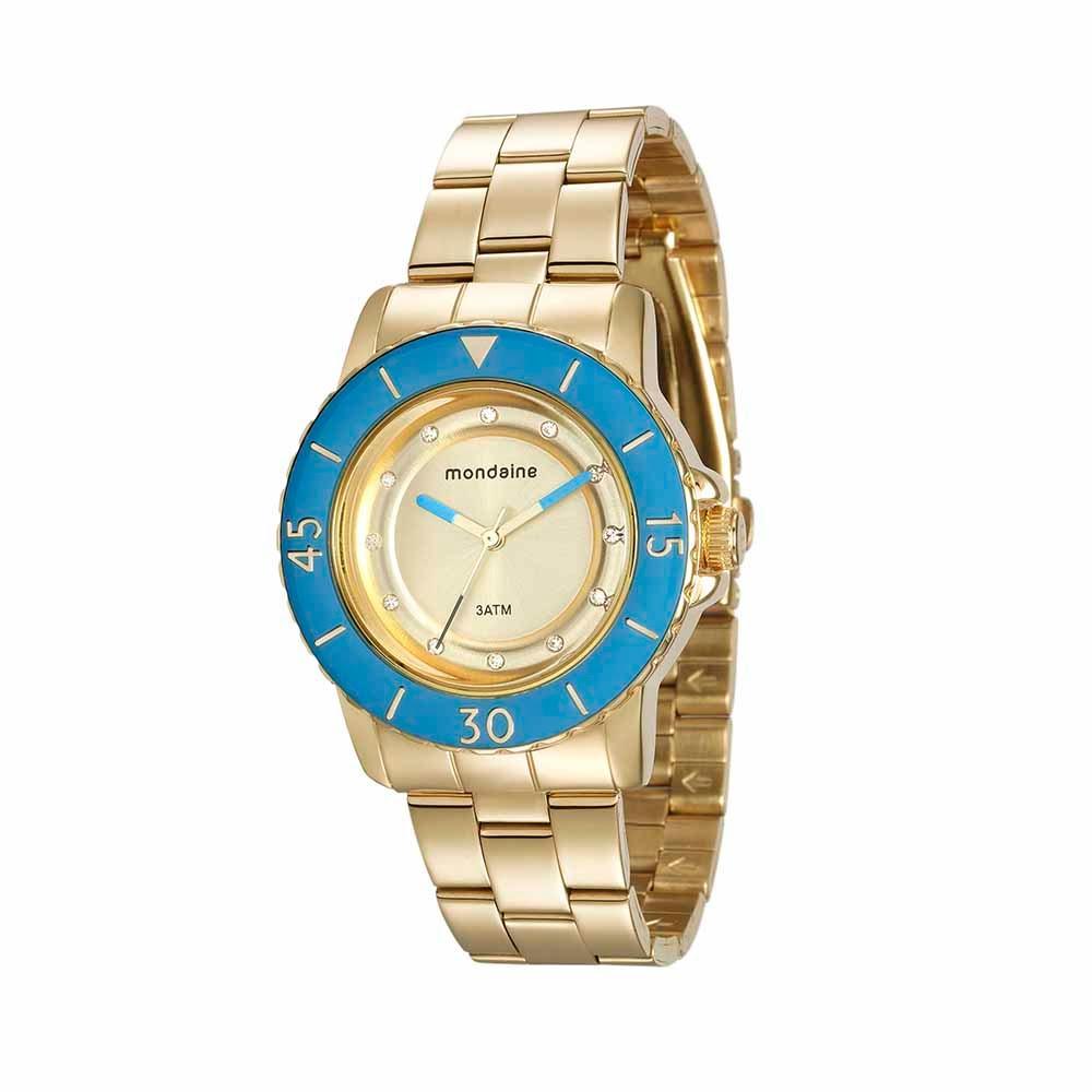 31b01d0940d Relógio Pulseira em Aço Dourado. 76646LPMVDE1. 76646LPMVDE1