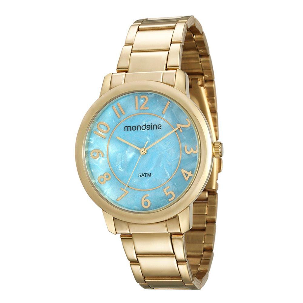 86083638b4a Relógio Madrepérola Dourado. 53534LPMVDE2. 53534LPMVDE2