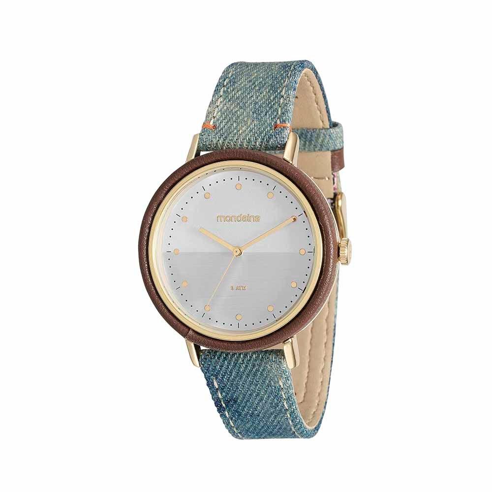 9571819de40 Relógio Mix de Estampas Jeans - Mondaine