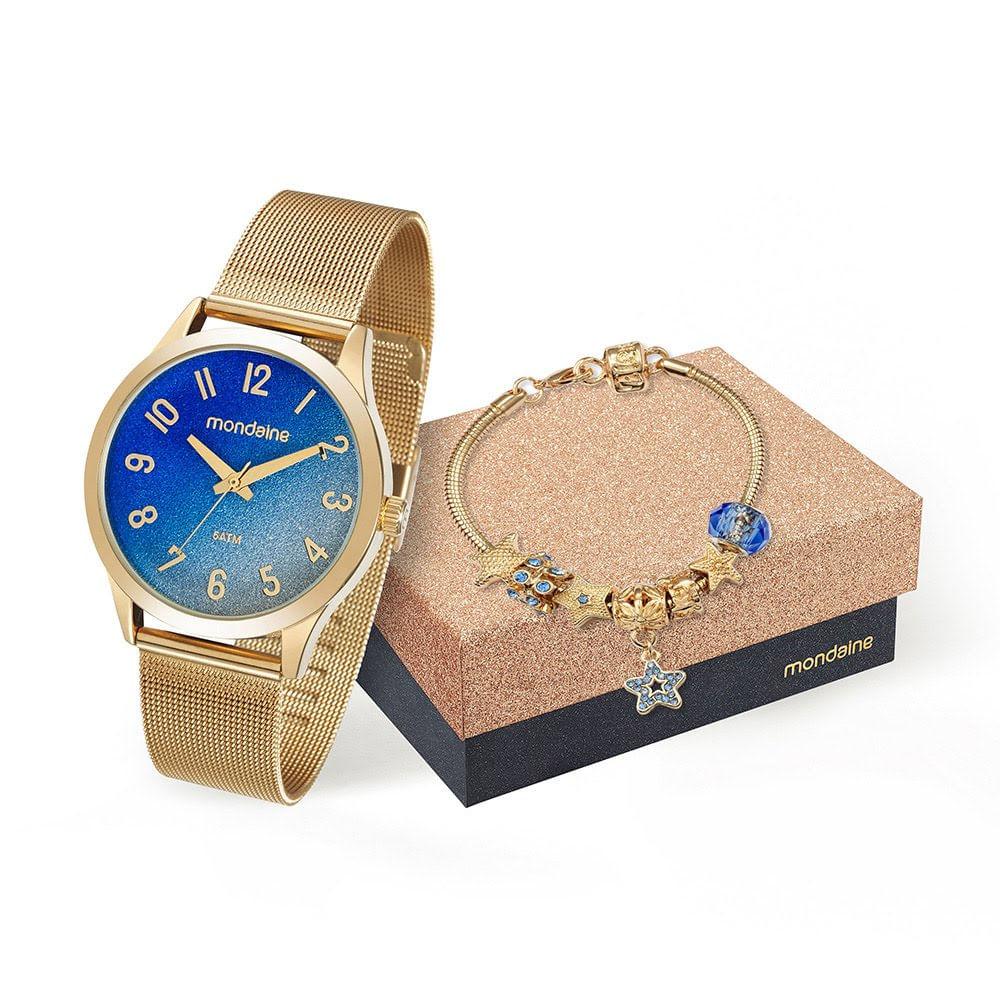 90fd6fd6da9 Relógio Pulseira e Pingente Dourado 53547LPMKDE2K1. 53547LPMKDE2K1.  53547LPMKDE2K1