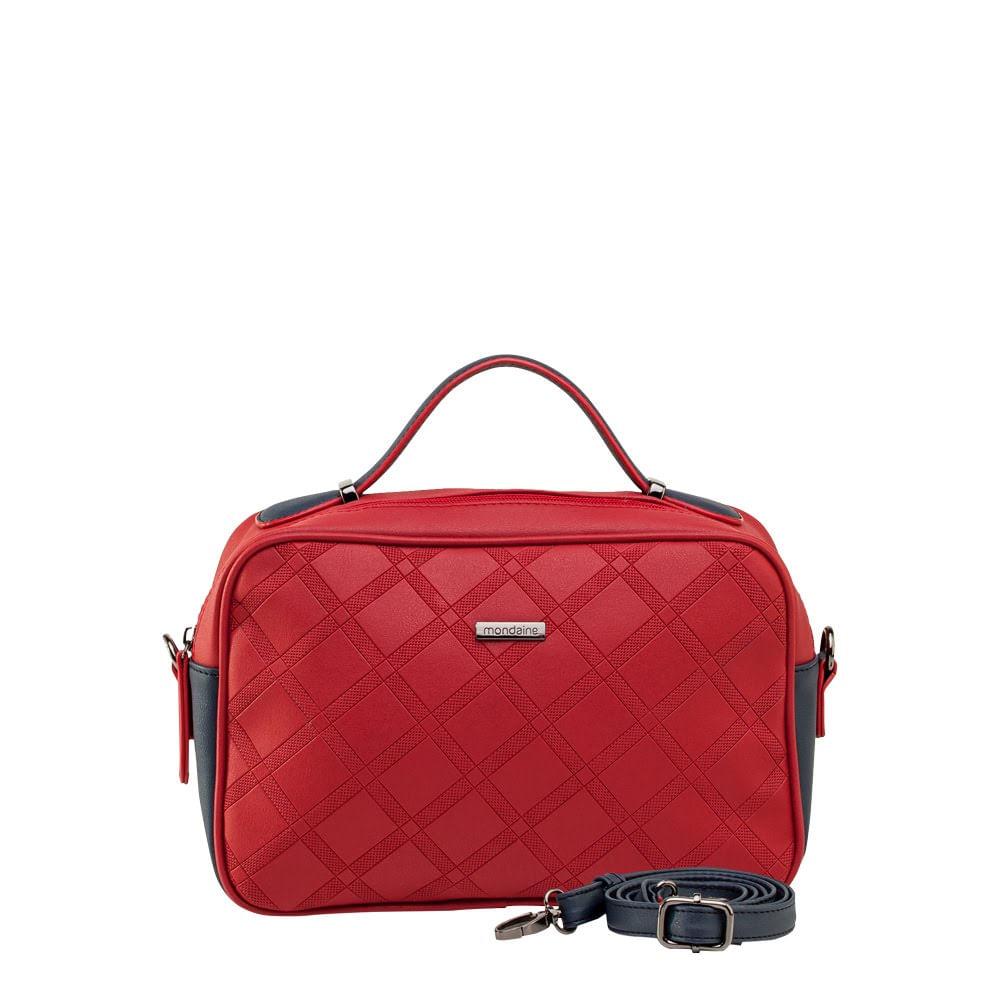 b22b169a7 Bolsa Pequena de Mão Vermelha com Relevo. 1600031083. 1600031083