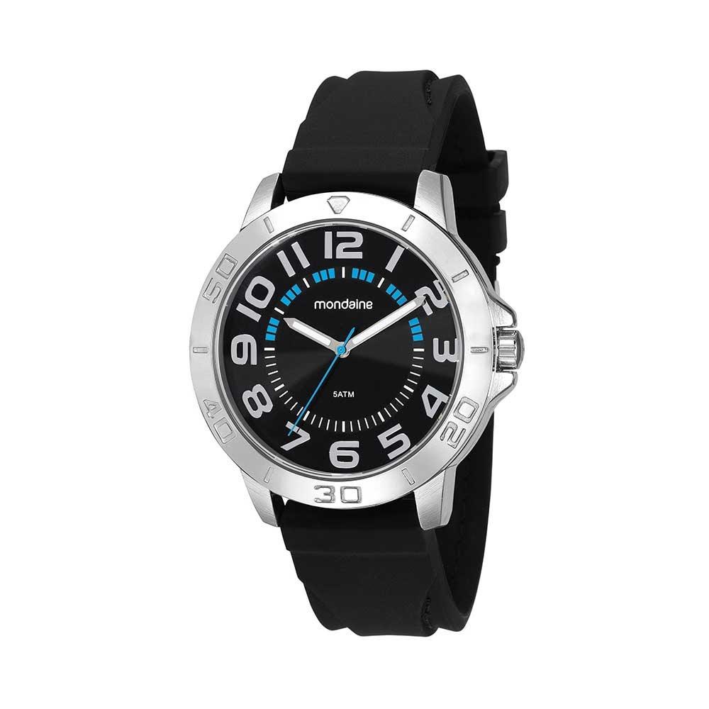 df2613f6274 Relógio Pulseira em Borracha Preto. 99358G0MVNI1. 99358G0MVNI1