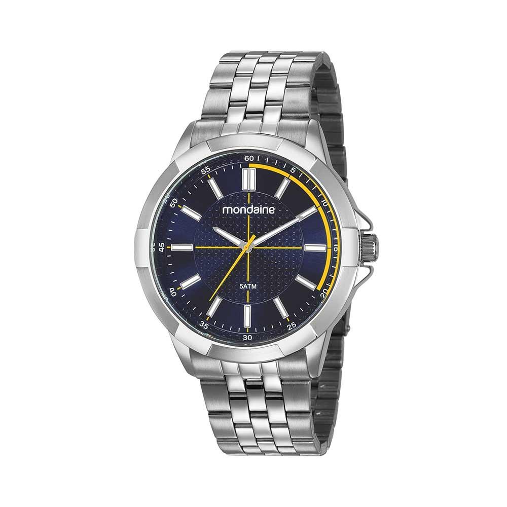 59795afaefb Relógio Pulseira em Aço Visor Texturizado Prata. 99363G0MVNE1. 99363G0MVNE1