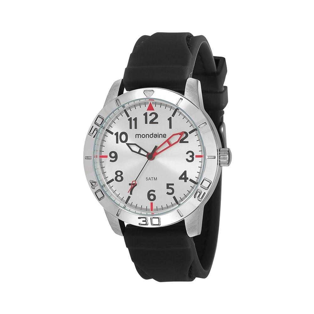 55b69cd22b0 Relógio com Marcadores de Minutos Preto 99232G0MVNI2 - Mondaine