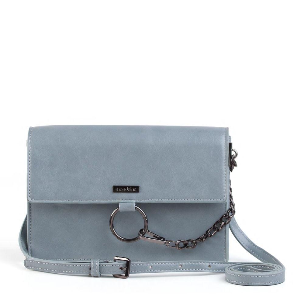 004dc4ec6 Bolsa Pequena Tiracolo Azul Corrente. 13006BMBLPC23. 13006BMBLPC23