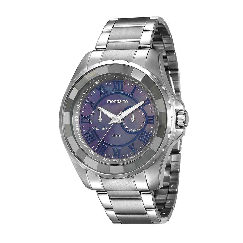 Relógio Mondaine Masculino Multifunção Prata 94796G0MVNA1. 94796G0MVNA1.  94796G0MVNA1 d8d50d5b3c