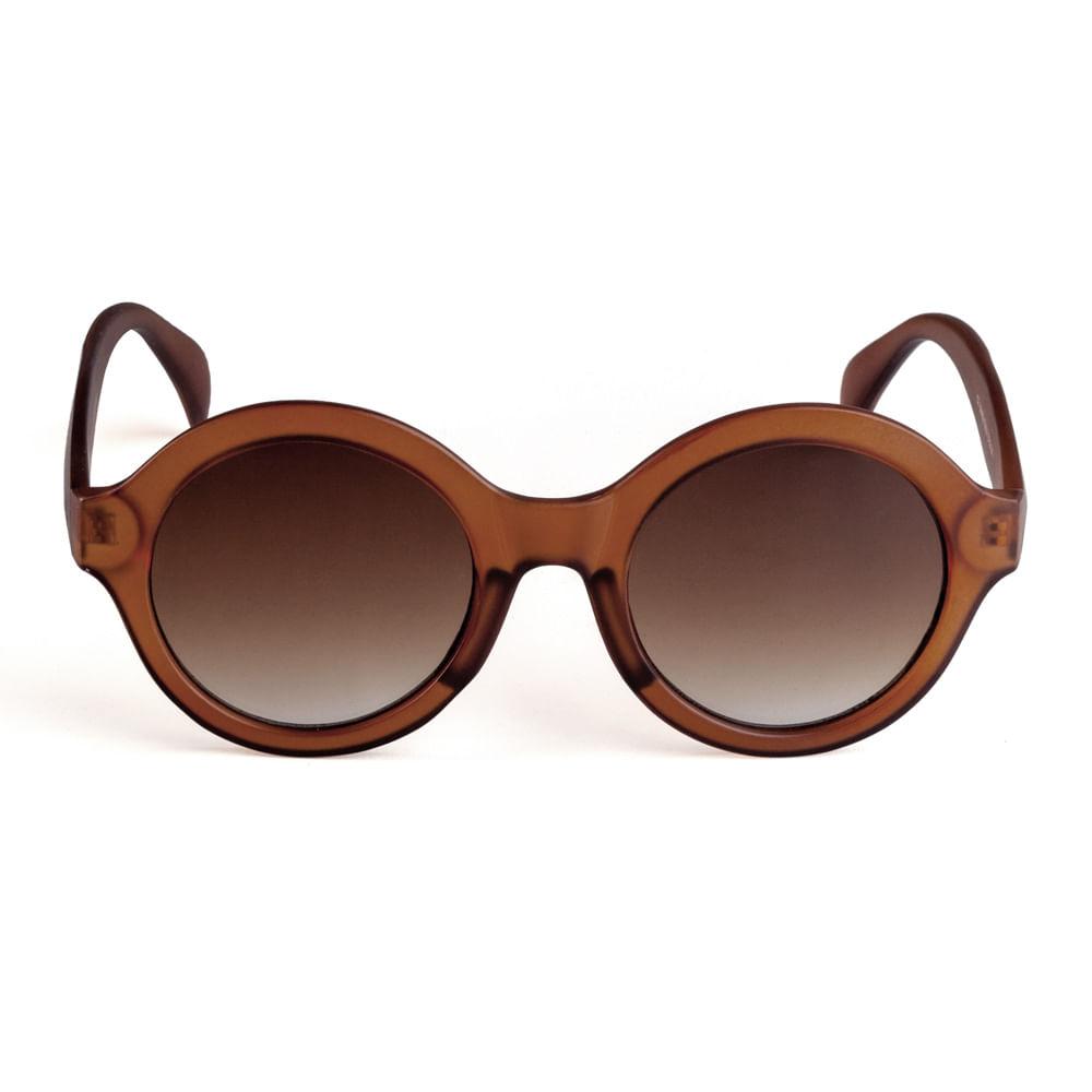 6871780a870de Óculos Redondo Acetato Caramelo. 11037MFGRA06. 11037MFGRA06