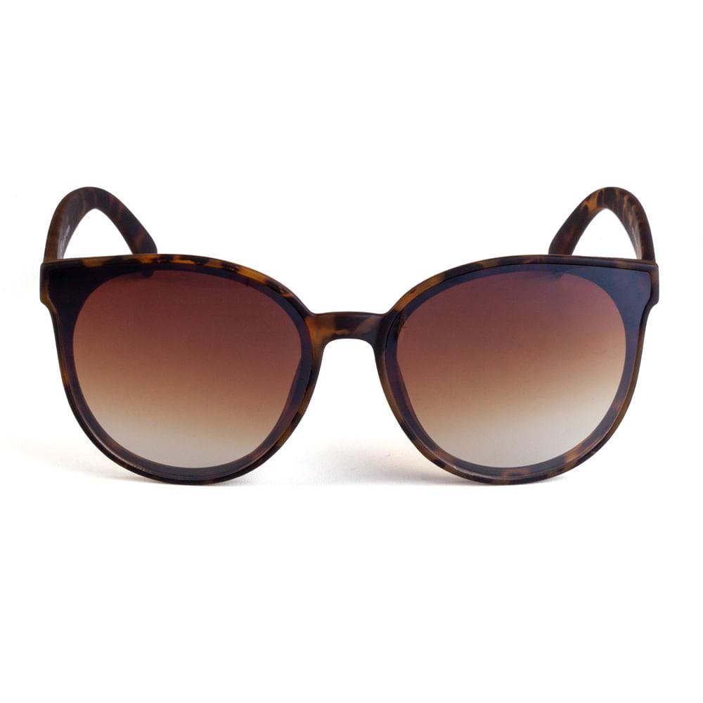 500f2acd71243 Óculos Redondo Acetato Marrom Tartaruga Degradê - Mondaine