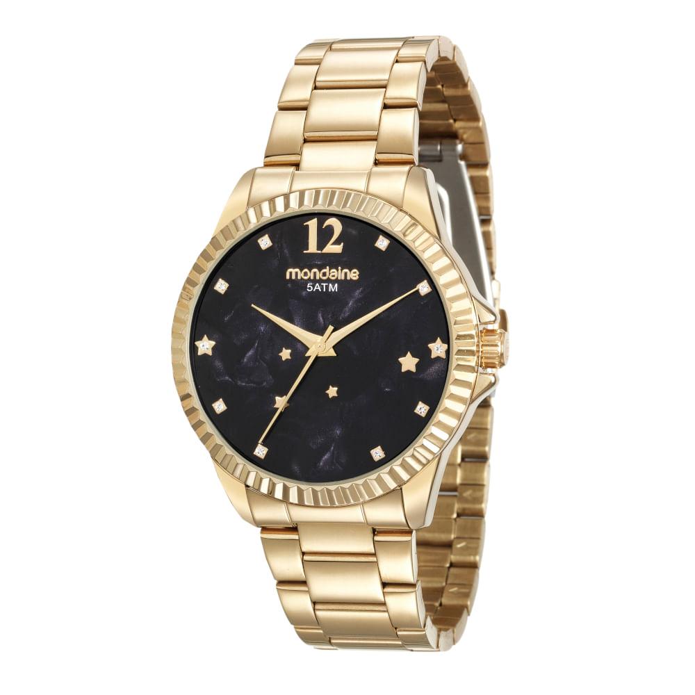 d46d1f41a37 Relógio e Semijóia Signo Escorpião Dourado - Mondaine