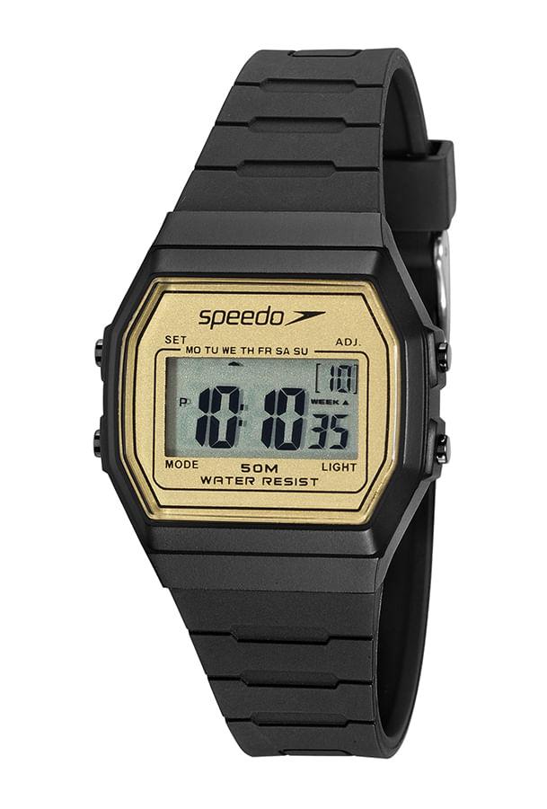 Relógio Speedo  Digital Preto 11025L0EVNP3