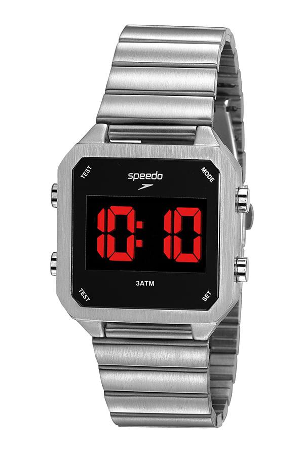 Relógio Speedo  Digital Prata 24874M0EVNE3