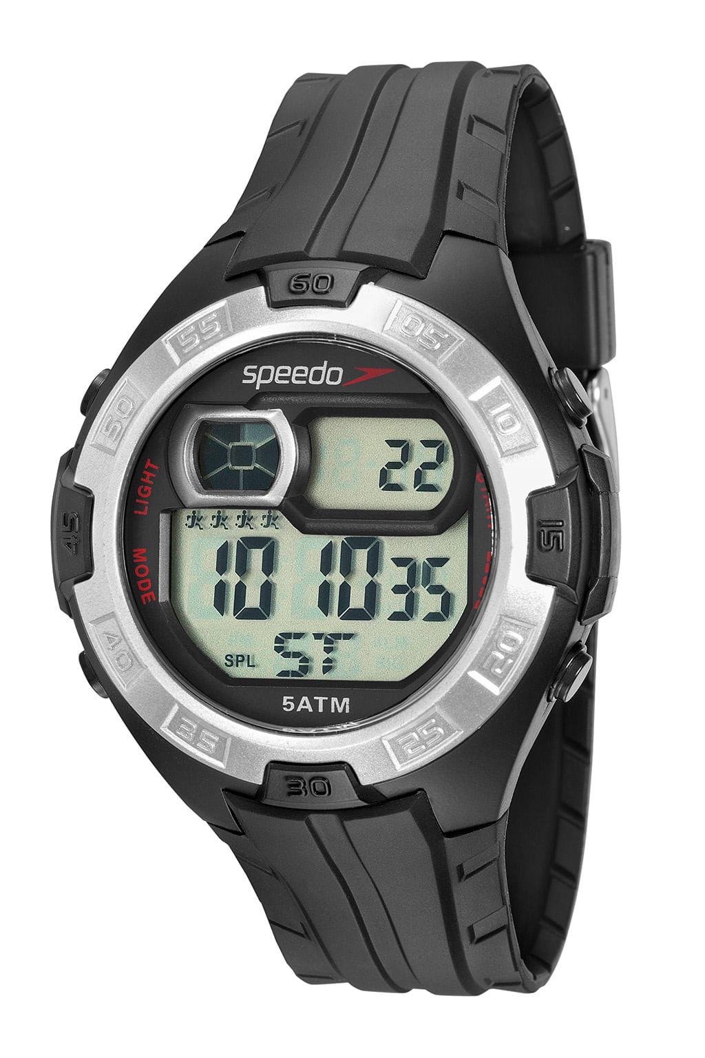 Relógio Speedo  Digital Preto 81097G0EVNP4