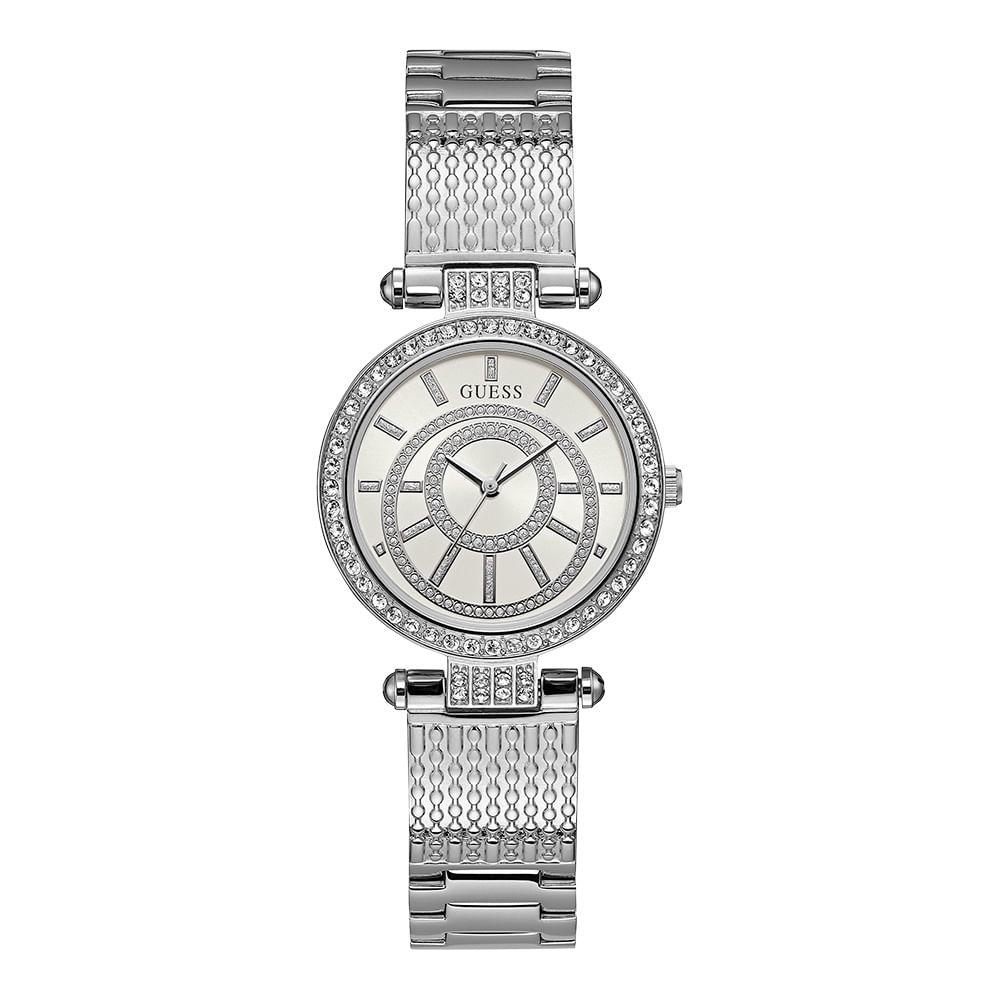 Relógio Guess Analógico Prata 92666L0GDNA1