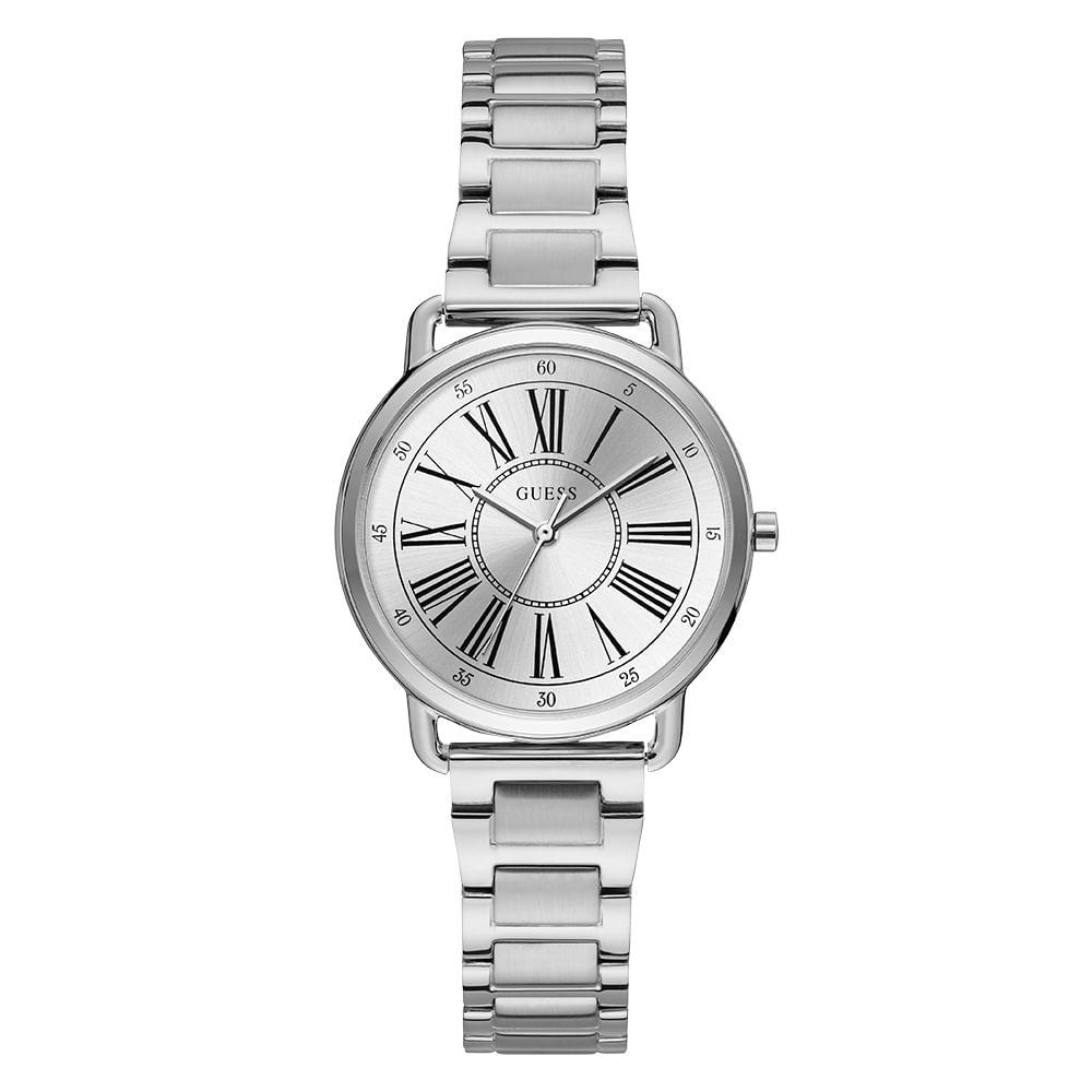 Relógio Guess Analógico Prata 92709L0GTNA1