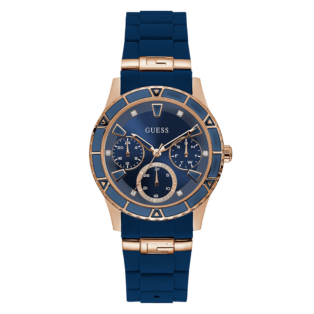 Relógio Guess Multifunção Azul 92719LPGSRU3